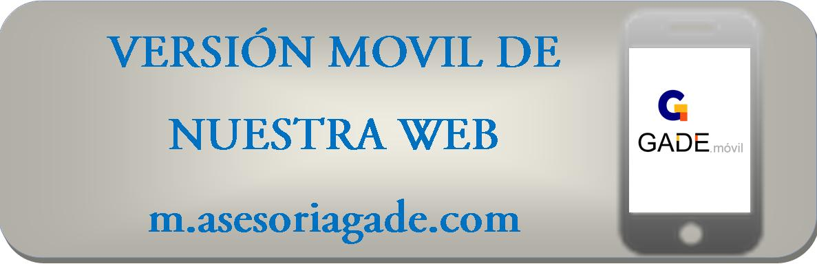 Version Movil m.asesoriagade.com